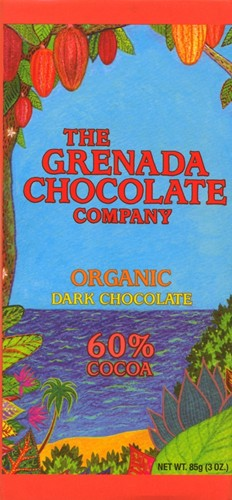 Grenada Chocolate Company 60% Organic Dark Chocolate 85g