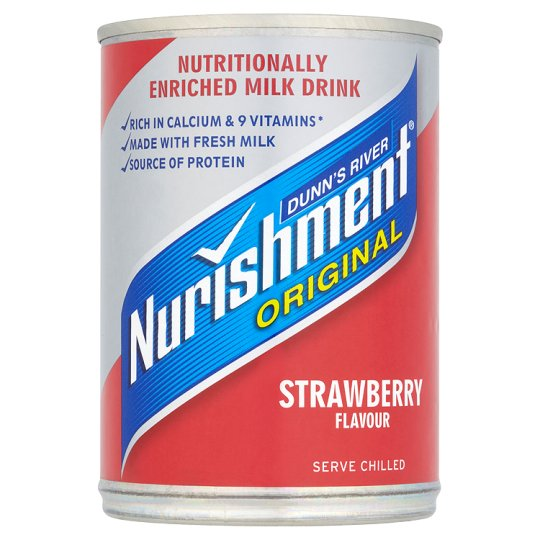 Dunns River Nurishment Strawberry Flavour 400g