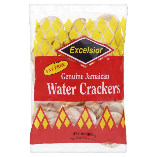 Excelsior Jamaican Water Crackers 220g
