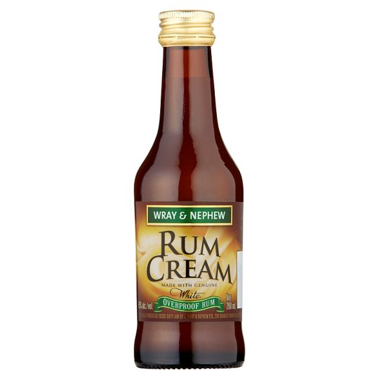 Wray and Nephew Rum Cream 200ml