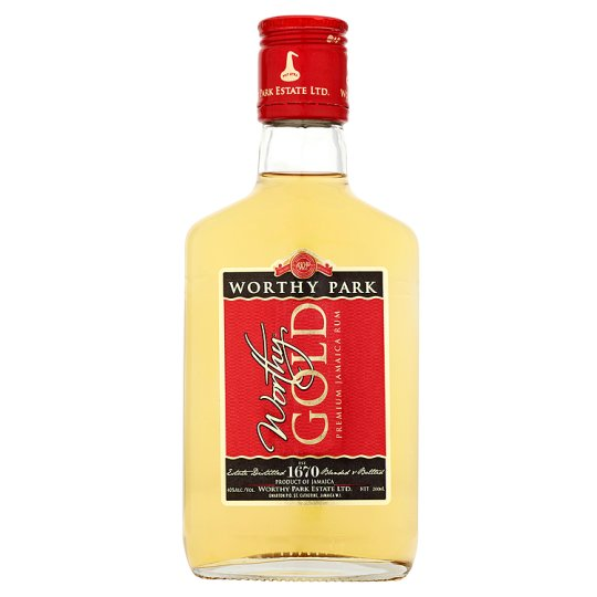Worthy Park Premium Gold Jamaican Rum 200ml