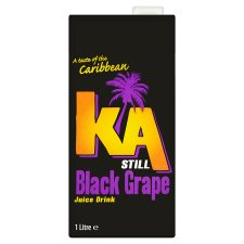 K.A  Still Black Grape Drink 1L