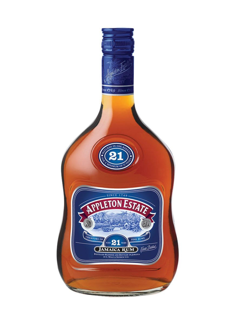 Appleton Estate Rum 21 Year Old Jamaican Rum 70cl