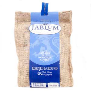 JABLUM 100% Blue Mountain Coffee Roasted and Ground 114g