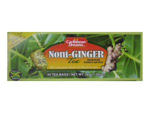 Caribbean Dreams Noni Ginger Tea 36g