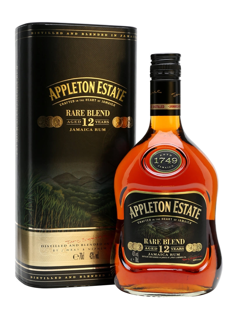 Appleton Estate Rum Rare Blend Aged 12 Years 70cl