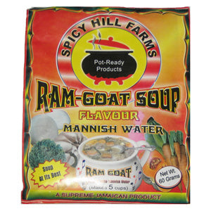 Spicy Hill Farms Ram-Goat Soup Flavoured with Mannish Water 60g