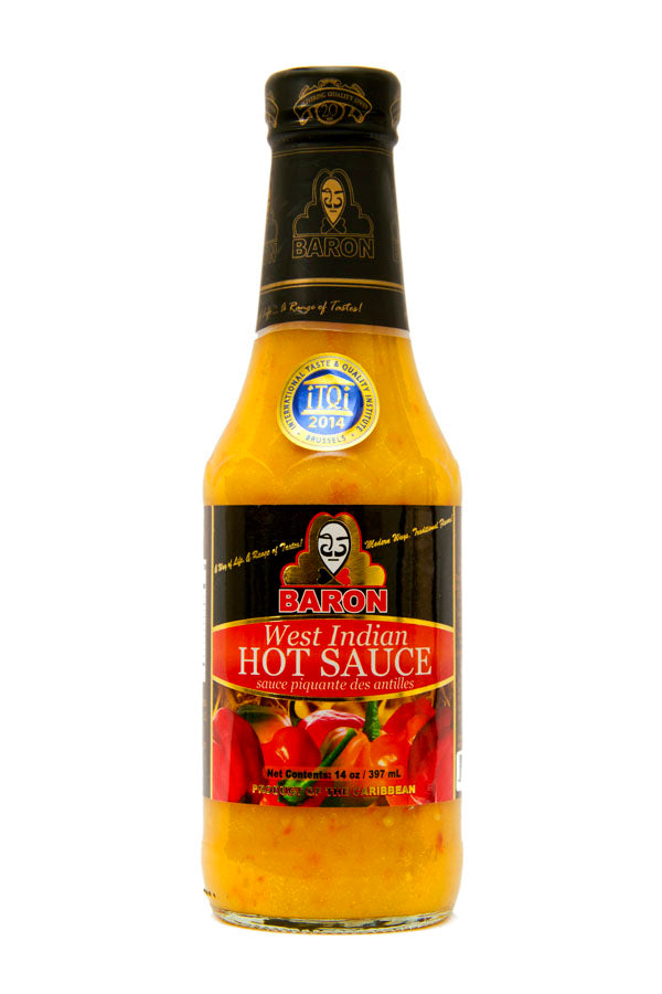 Baron West Indian Hot Pepper Sauce 397ml