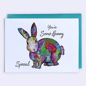 """Some Bunny Loves You"" Card"