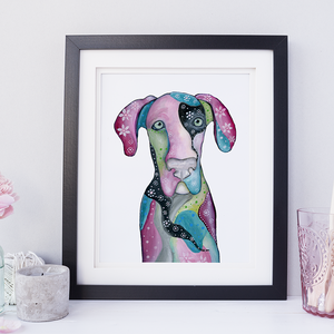 Great Dane Wall Art
