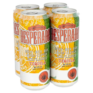 Desperados Tequila Flavoured Beer 4 x 500ml (Pack of 24 x 500ml)