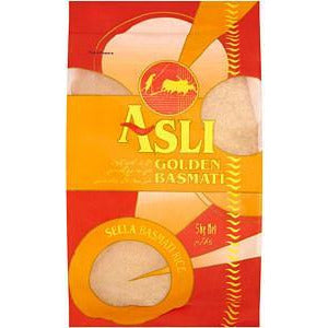 ASLI Golden Basmatic Rice is a parboiled basmaic rice.