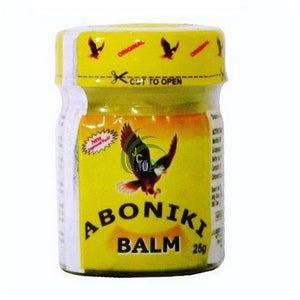 Aboniki Balm 25g for Pain Relief, Sore Muscles, Anti-inflammatory, Relieves Pains, Muscles, Waist, Headache.