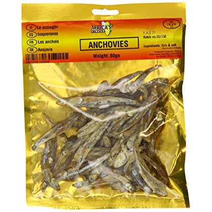 Dried Anchovies are an edible variety of oily fish hence they pack a lot of nutritional value