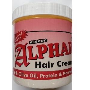 Alphar Hair Cream treatment medicine with essential oils that soothers scalp and treats hair.