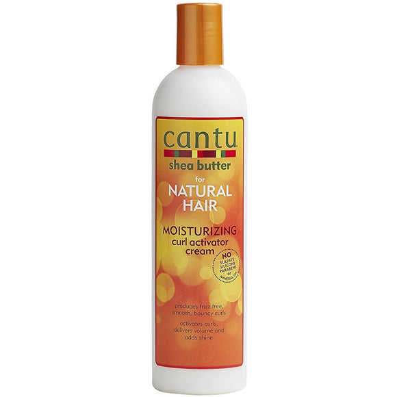 Cantu Shea Butter for Natural Hair Moisturizing Curl Activator Cream 355ml. Smoothes and enhances natural curl pattern revealing frizz-free volume.Very natural.