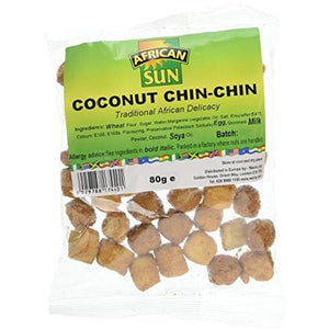 Chin Chin is a traditional African snack made from wheat flour. Its usually a savoury snack however there are sweet version.  We hope you enjoy your product!