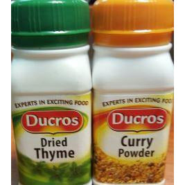 Ducros Curry Powder & Thyme