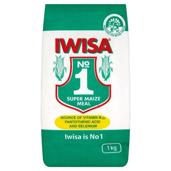 IWISA Super Maize meal is a staple food from maize flour. It's enjoyed in almost all African countries. It's called Zaza in most parts of Zimbabwe and Africa.