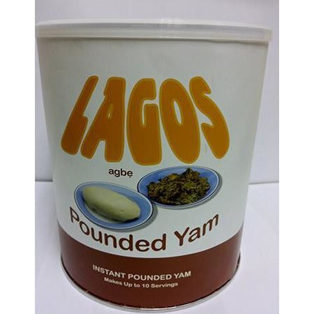 Lagos agbe Pounded Yam flour is made from specially selected yam tubers. Made in the right proportion to improve the nutritional aspect of the Pounded Yam powde
