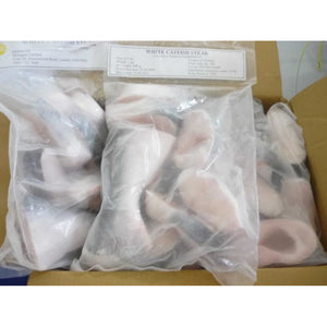 Pangasus Fish Steaks (White Catfish or Malanga) - 1kg