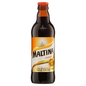 Maltina Classic Malt Drink Bottle Non-Alcoholic Premium Malt Drink. A unique and delicious malt drink, packed full of the finest ingredients and added vitamins.