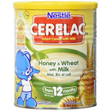 Nestlé CERELAC Honey and Wheat with Milk Infant Cereal 400g & 1Kg 12 months+
