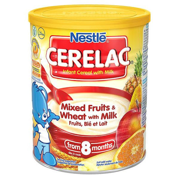 Nestlé CERELAC is intended for feeding once per day unless otherwise advised by your healthcare professional. Give 25g of Nestlé CERELAC per day with water.