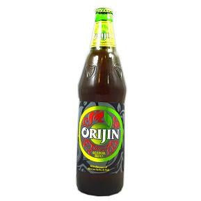 Orijin Bitters is a unique bittersweet spirit, blended with the flavours of specially selected African herbs and fruits, combined to give a bitter-sweet taste.