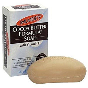 Palmers Cocoa Butter Moisturizing Soap 3.5oz is a rich creamy soap that softens and moisturizes as it cleanses without leaving a dry, tight feeling. Certified!