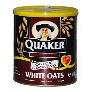 Quaker White Oats Tin - 500g