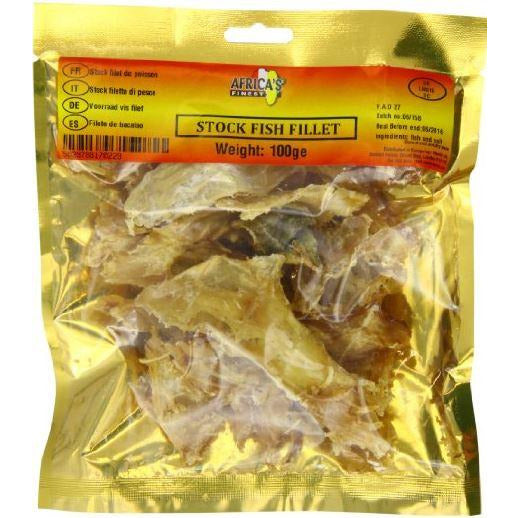 Stockfish Fillet is very delicious in taste and highly nutritional. It is a good source of protein and low in fat making it a good addition to any healthy diet.