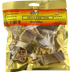Stockfish Tusk is very delicious in taste and highly nutritional. It is a good source of protein and low in fat making it a good addition to any healthy diet.