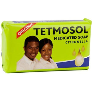 Tetmosol Medicated Soap Citronella is a medicated soap used to fight various skin infections. It is a very known soap highly regarded as an acne cleanser.