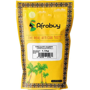 Yellow Garri from Ghana