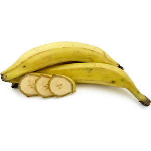 Yellow Plantain is a banana cultivar that is eaten when cooked. However, there is no formal botanical distinction between bananas and plantains It is highly nutritious