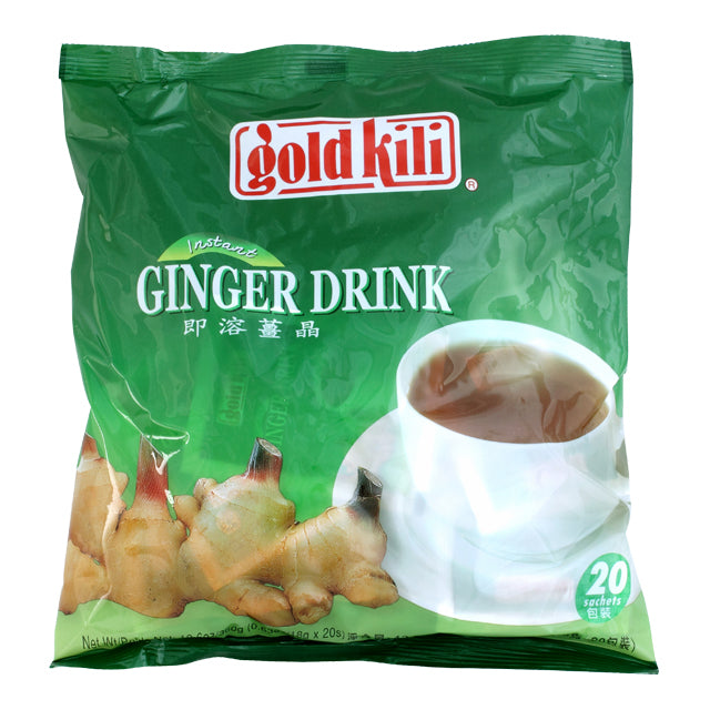 Ginger Drink by Gold Kili, 20 Sachet Total (Pack of 20 Sachets)