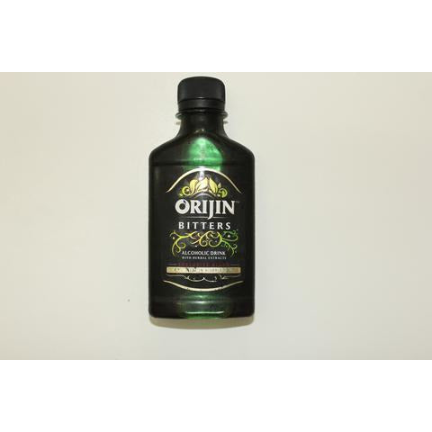 Orijin Bitters is made by Guinness Nigeria Plc owned by the multinational company Diageo. Keep in mind though that the drink is made locally here in Nigeria.