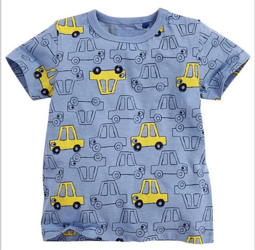 Yellow Cars T-Shirt