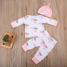Pink Sparrow -  3 Piece Outfit