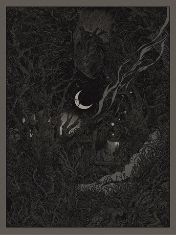 MASTODON 'Cold Dark Place' Limited Edition Screen Print  by Richey Beckett