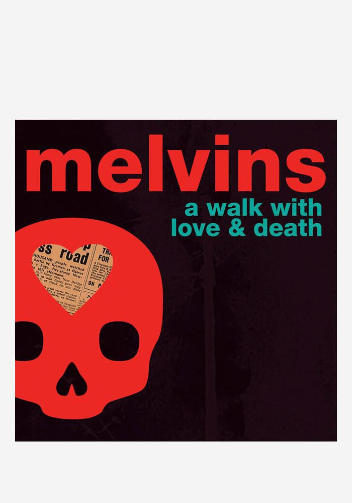MELVINS A WALK WITH LOVE AND DEATH CD (SIGNED CD BOOKLET)