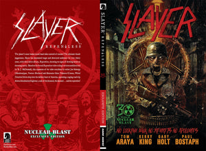 Slayer Repentless Nuclear Blast Exclusive Hard Cover Edition