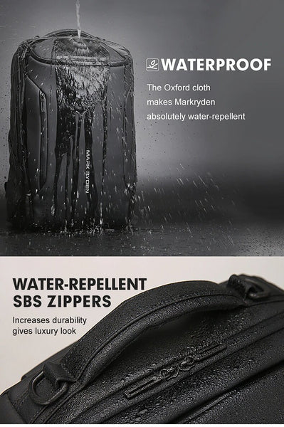 HTB1W075bizxK1Rjy1zkq6yHrVXa7 grande - Mark Ryden 2019 New Anti-thief Fashion Men Backpack Multifunctional Waterproof 15.6 inch Laptop Bag Man USB Charging Travel Bag