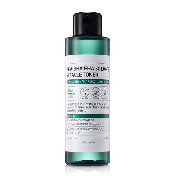 AHA/BHA/PHA 30 DAYS MIRACLE TONER