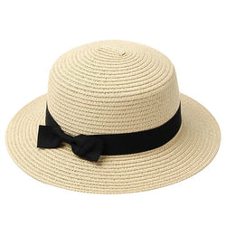 SUMMER BEACH PANAMA DRAW HAT