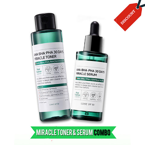 30 DAYS MIRACLE TONER + SERUM COMBO