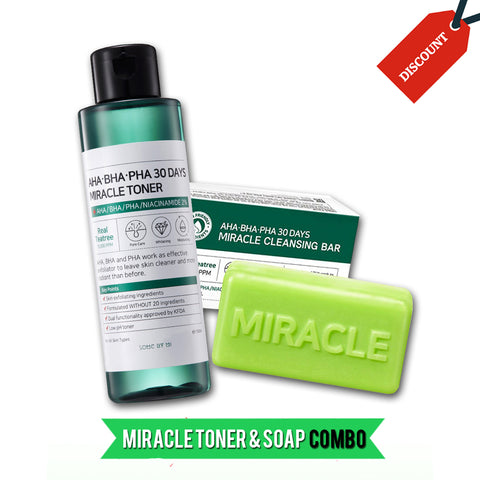 30 DAYS MIRACLE TONER + SOAP COMBO