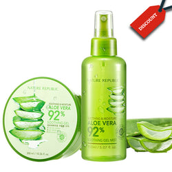 ALOE VERA GEL & MIST by Nature Republic
