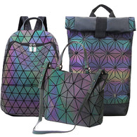 3D GEOMETRIC LUMINOUS BAG